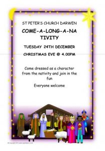 St Peter's Church - Darwen - Christmas Nativity - Tuesday 24th December 2019